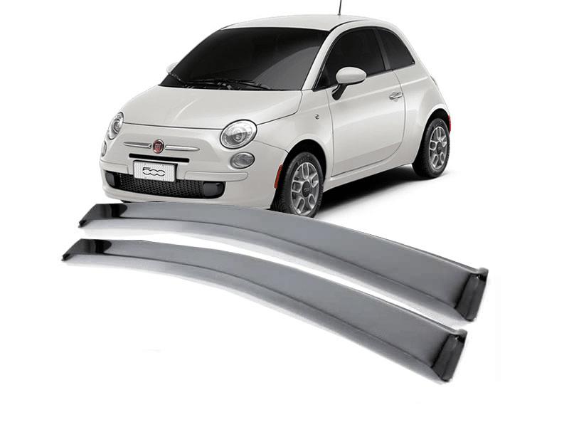 Calha de Chuva para Fiat 500 2 Portas Fumê