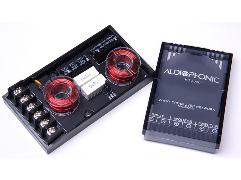 Kit 2 Vias Audiophonic Club K C 6 3 6,5 polegadas 80w