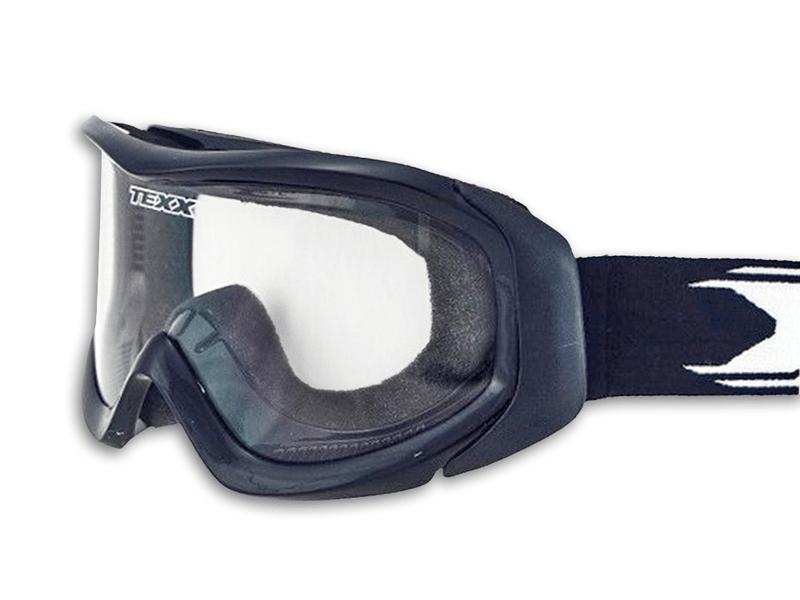 Óculos Motocross Texx Fx-5 Preto com Lente Cristal (Anti-Embaçante) 6e40fcde17