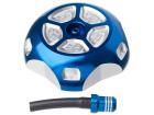 Tampa do Tanque c/ Respiro YZF / WRF / KXF 250/450 YZ 125/250 Azul Moto X