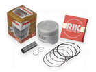 Kit Pistão com Anel Rik Premium CG 125 2002/2008 Bros 125 2003/2005 0.50