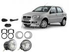 Farol de Milha para Palio G4 08/.. Copo Cromado Automotive Imports
