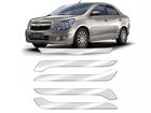 Protetor de Parachoque para Chevrolet Cobalt 2012/2015 Transparente sem Escrita