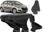 Apoio de Braço para Hyundai Hb20 - Com Coifa e Porta-Objetos - Couro ou Tecido
