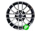 Roda BAR Sport Aro 15 x 6 Volkswagen 4x100 ET40 Preta diamantada