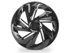 Calota Esportiva Aro 14 NITRO Black Unicolor 4x100 4x108 5x100