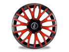 Calota Esportiva Aro 14 TRITON Black/Red 4x100 4x108 5x100