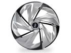 Calota Esportiva Aro 14 NITRO Silver/Black 4x100 4x108 5x100