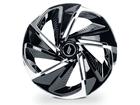 Calota Esportiva Aro 13 NITRO Black/Chrome 4x100 4x108 5x100