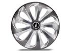 Calota Esportiva Aro 13 VELOX Graphite/Silver 4x100 4x108 5x100