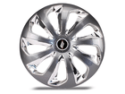 Calota Esportiva Aro 14 VELOX Black/Chrome 4x100 4x108 5x100