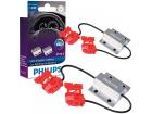 Canceller Adaptador Canbus Philips Lâmpada Led P21P21/5 W21 21W Par