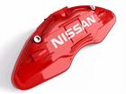 Capa para Pinça de Freio Nissan - Vermelho