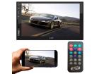 Central Multimídia MP5 2DIN com Espelhamento Android Iphone IOS Bluetooth Controle Remoto Entrada Câmera Ré + Frontal - Htech HT-3019PLUS
