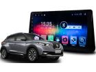 Central Multimídia Nissan Kicks 17/.. S700 Android 7.1 Tela 10 Pol Gps / Tv / Câmera ré / Plug and play - Hetzer