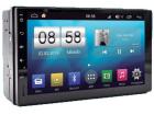 Central Multimídia Universal CarTablet 7 polegadas STQ SFit Tela Capacitiva Multitoque GPS TV Bluetooth Wifi Espelhamento Android