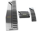 Kit Pedaleira Descanso Pé Onix Plus Câmbio Automático em Aço Inox