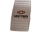 Descanso de Pé Chevrolet Vectra Elite em Aço Inox - Listrado Preto