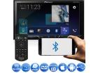 "DVD Player Pioneer AVH-A4180TV 2 DIN Tela 7"" Bluetooth USB MP3 Waze Spotify - Controle Remoto"