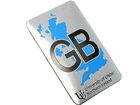 Emblema Badge GB University of Ulster Northern Ireland 8x5cm