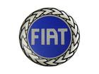 Emblema de Roda Fiat Resinado 58mm Azul