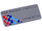 Emblema Badge BMW Motorsport International Limited Edition 8x3cm