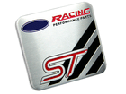 Emblema Badge Ford ST Racing Performance Parts 6x5cm