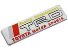 Emblema Badge Toyota TRD Motor Sports 10x2,5cm