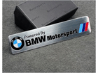 Emblema Badge BMW Motorsport 12x2,5cm
