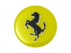 Emblema de Roda Ferrari Resinado 58mm Amarelo