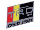 Emblema Badge Toyota Sport TRD Motor 8x4,5cm