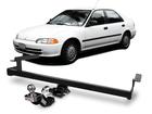 Engate Reboque Civic Lx 93/98 Removível 500 Kg