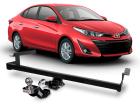 Engate Reboque Toyota Yaris Sedan 2018 2019 2020 Removível 500Kg