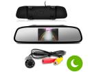 Retrovisor com Câmera de Ré Estacionamento com Visão Noturna - TechOne
