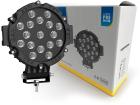 Farol Auxiliar Redondo 17 LED Premium 6000K 12-24V 51W 4000lm