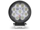 Farol de Milha Neblina LED Universal Redondo Shocklight 8000K 27W 10V/30V
