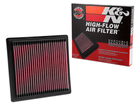 Filtro de Ar K&N Gol 1.6 16V MSI 19/.. - Inbox Esportivo Lavável