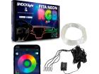 Fita Neon Led Luz Interna RGB 4 Canhões 6 Metros - Shocklight