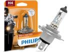 Lâmpada Philips MotoVision H4 60 / 55W 3200K - 40% Mais Iluminação