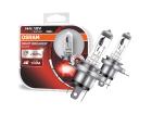 Lâmpada Osram Night Breaker Silver H4 Amarela Par 3400K 55W / 60W +100% Iluminação
