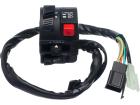 Conjunto Interruptor de Luz L. Esquerdo Honda NXR 125 Bros ES/ESD 03/05 Condor
