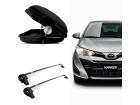 Bagageiro para Toyota Yaris 18/.. Maleiro de Teto SportRack + Rack Projecar