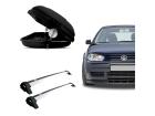 Bagageiro para Volkswagen Golf 99/14 4P Maleiro de Teto SportRack + Rack Projecar