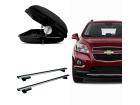 Bagageiro para Chevrolet Tracker 14/19 Maleiro de Teto Sportrack + Rack Travessa Mult Projecar