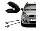 Bagageiro para Fiat Idea 06/16 Maleiro de Teto Sportrack + Rack Travessa Mult Projecar