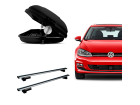 Bagageiro para Volkswagen Golf Variant 15/19 Maleiro de Teto Sportrack + Rack Travessa Mult Projecar