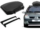 Kit Maleiro para Clio Hatch ../13 Bagageiro + Rack Porta-malas de Teto - Projecar