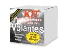 Kit para Restauração de Volante Cinza/Grafite/Preto