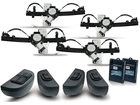 Kit Vidro Elétrico Sensorizado para Cobalt 4P Completo