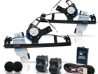 Kit Vidro Elétrico Sensorizado para Gol G2 Parati Saveiro Dianteiro